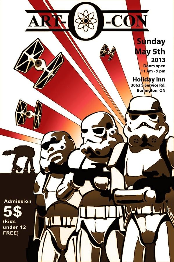 Art-O-Con poster 2013