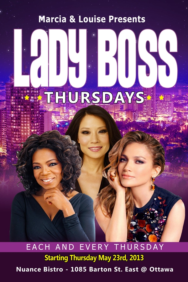 Lady Boss Thursday, Nuance Bistro, May 23/13