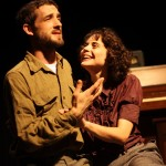 A.J. Haygarth as Nathan and Allison Warwick as Rebecca