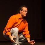 Paul Gordon performs in DanceGarbage