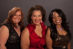 From Left to Right: Bev Dexter, Kathryn Crooks, Tameka Halstead