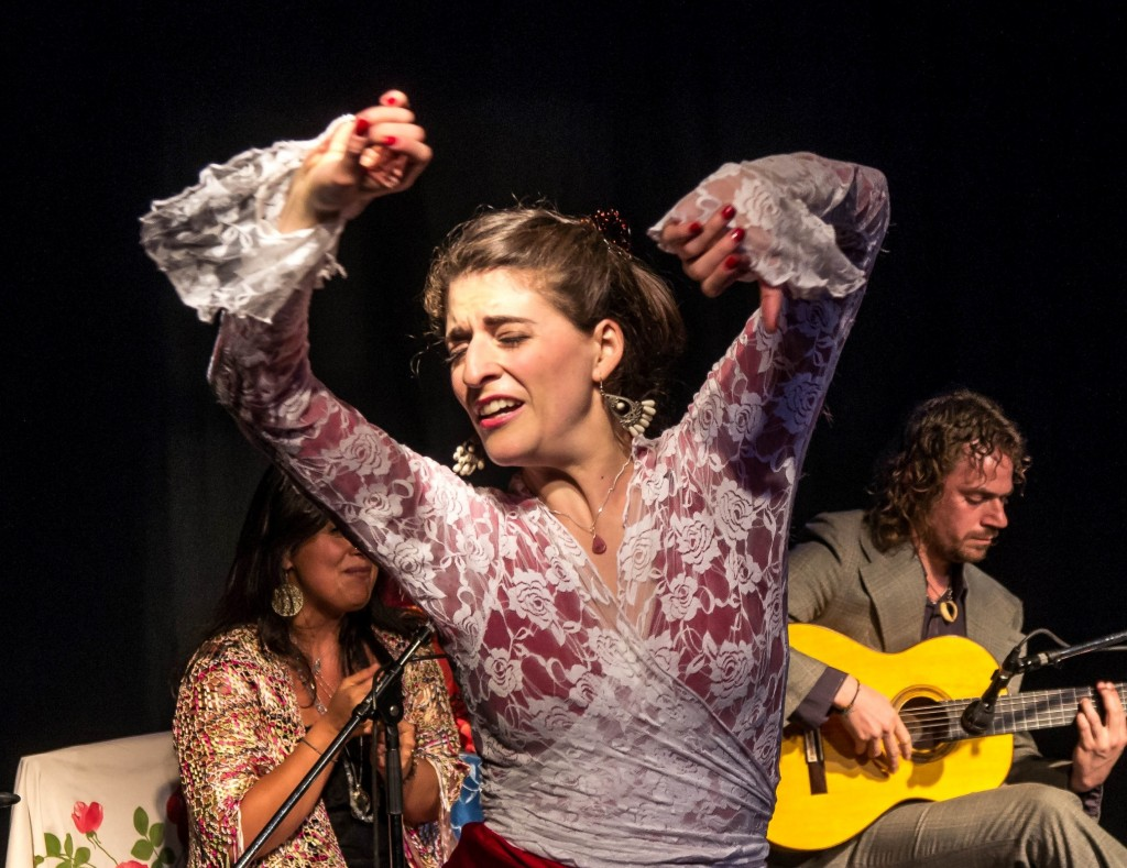 "Photo Gallery: Fin de Fiesta Flamenco presents ""Mala Yerba Nunca Muere"", Pearl Company, Mar. 28/14"