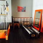 Pilates reformer equipment space