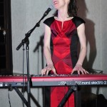 Treasa Levasseur performing