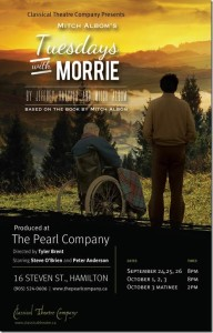 Tuesday's With Morrie, Pearl Company, September 24 – Oct 3/15
