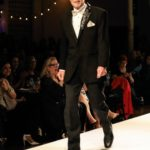 Mayor Fred Eisenberger working the runway
