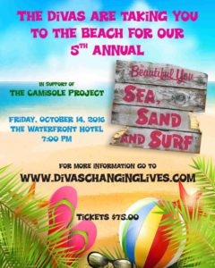 The Beautiful You: Sea, Sand & Surf, Burlington, October 14/16