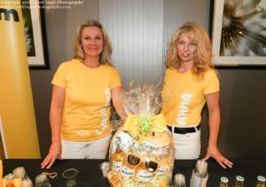 Jill and Lee-Anne shared samples of Savanna Cider