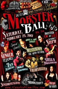 Mobster Ball, Spice Factory, Feb. 25/17
