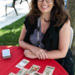 Lori provided free tarot card readings.