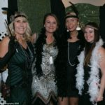 Flappers for the evening