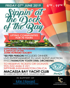Sippin' at the Dock of the Bay, Hamilton, June 7/19
