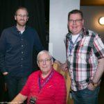 Adam Tillich, David and Ken Angus