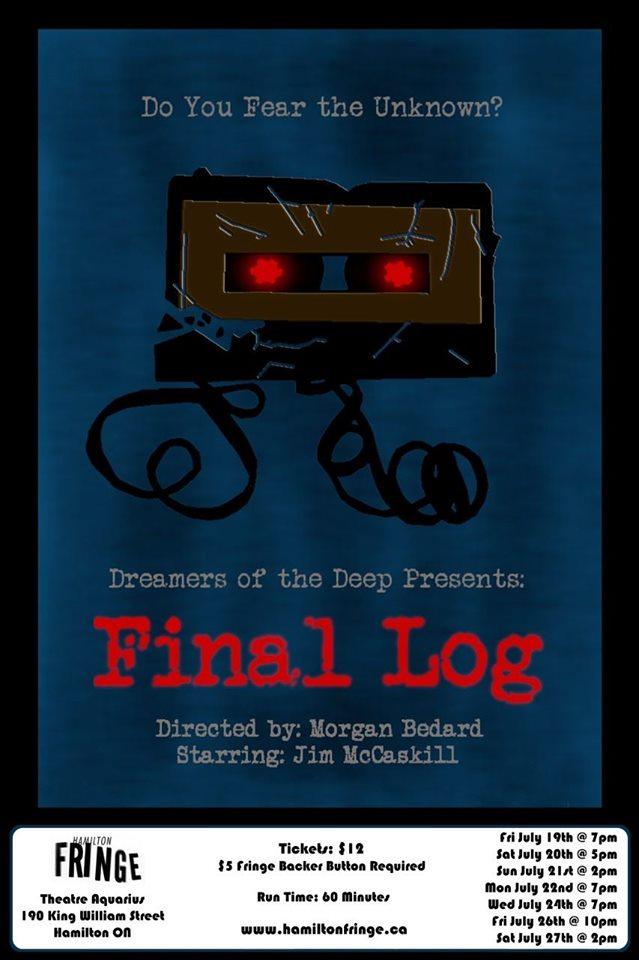 Final Log – Hamilton Fringe 2019