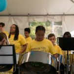 The Hamilton Youth Steel Orchestra in action