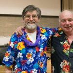 Eddie Williams (winner of $3000 CAA gift card) and Rick Harper