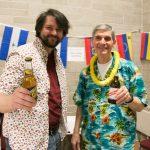 Jon Nicholson and Paul Raphael: the bartenders!