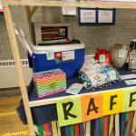 Lots of amazing raffle prizes