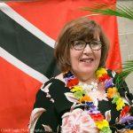 Victoria Gysbers was feeling the island vibe