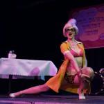 Burlesque performer The Lady Josephine