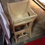 a tri-use highchair/rockinghorse/desk