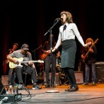 Katie Bulley and band, photo by Bill Watson.