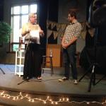 Renee Wetselaar introducing Chris Erl
