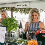 Making delicious drinks with Stoli vodka