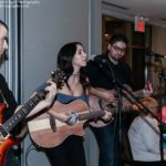 Charissa Pavlou and her band performed