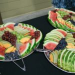 Fruit and pies for dessert