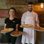 Morgan and Chef Sonam at The Express Italian Eatery