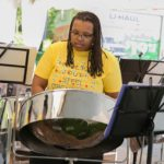 Member of the Hamilton Youth Steel Orchestra